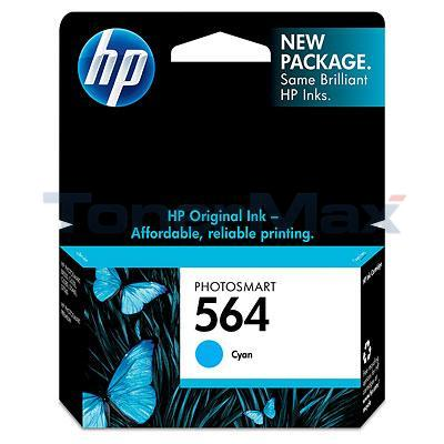 HP PHOTOSMART C6380 NO 564 INK CART CYAN
